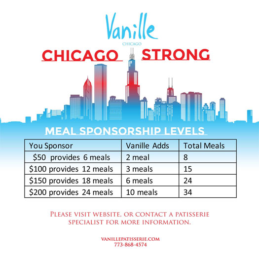 Chicago Strong Meal Sponsorships