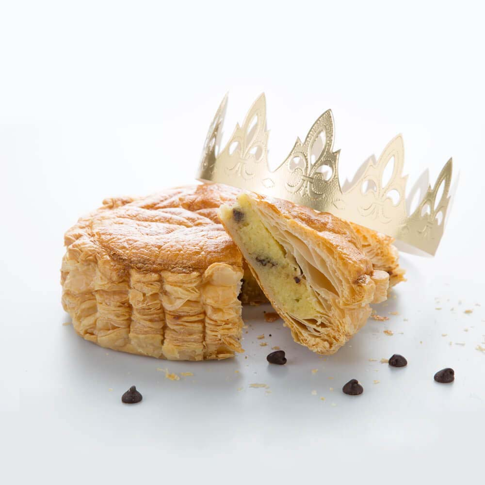 Galette des Rois-Chocolate Chip Frangipane