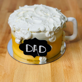 Dad's Beer Father's Day Cake