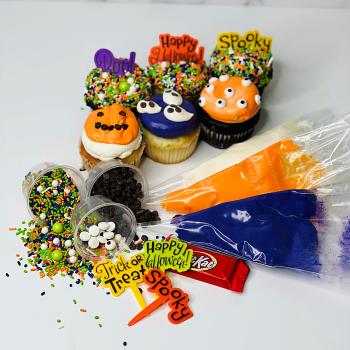 Halloween Cupcake DIY Kit
