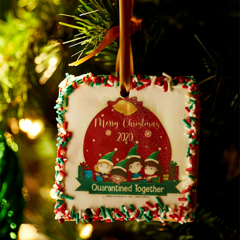 COVID Cookie Ornaments