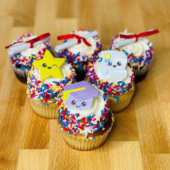 Graduation Cupcake 6-pack