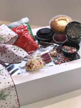 DIY Christmas Cupcake Decorating Kit