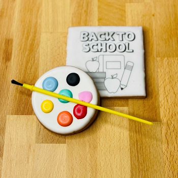 Back to School Paint Your Own Cookie set
