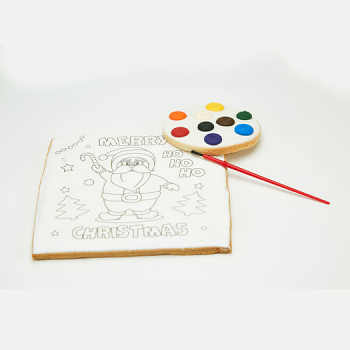 Large Paint Your Own Christmas Sugar Cookie