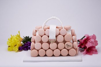 Mother's Day Macaron Purse