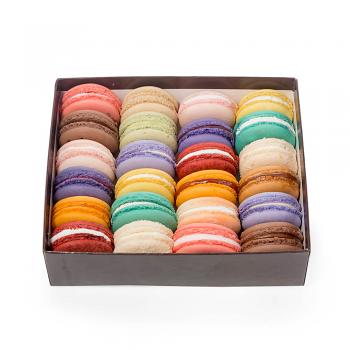 Macaron Gift Box, Set of 24