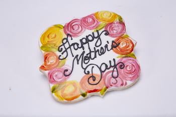 Happy Mother's Day sugar cookie