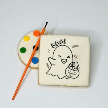 Ghost DIY Coloring Cookie Set