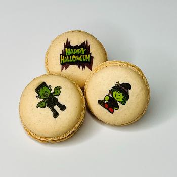 Happy Halloween 3pc Macaron Set